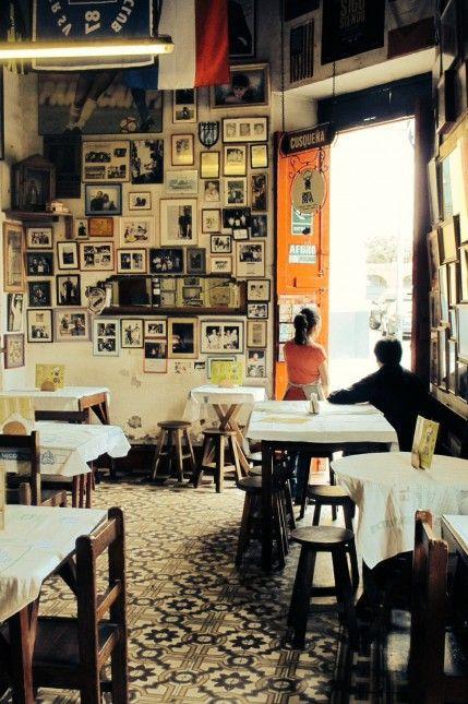 Cevicheria Canta Rana, Lima, Peru powerd by Cafe Kontor Lima, Cafe organico de Peru.