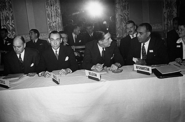 The Bretton Woods Conference July 1944 Images - The Center for Financial Stability