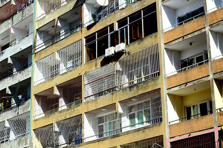 A block of flats in Maputo