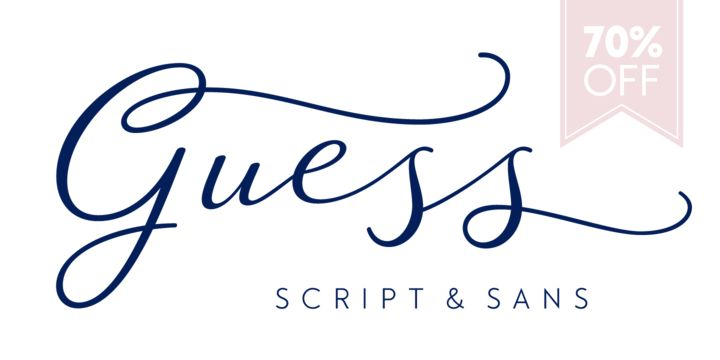 Guess - Webfont & Desktop font « MyFonts