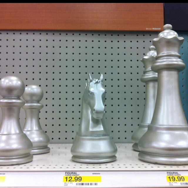 cool decor chess pieces at target