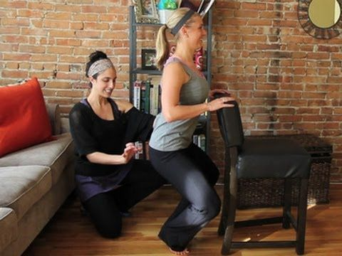 Inner Thigh Barre Workout http://diet.com/videos Looking to see what all the buzz about Barre Workouts is? Try this at home inner thigh barre workout featuring Lauren Hefez and Sarah Dussault.