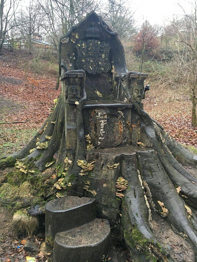 This tree trunk chair I found in Kendall England http://ift.tt/2tONXt5
