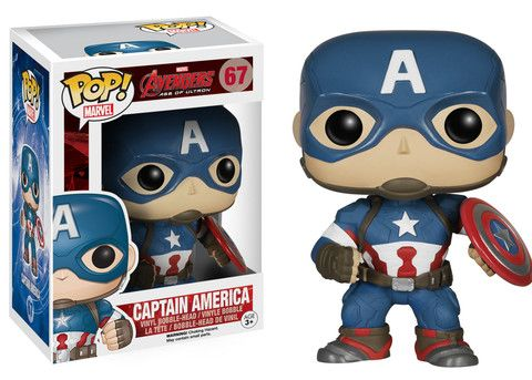 Pop! Marvel: Avengers 2 - Captain America | Funko --- for brett?