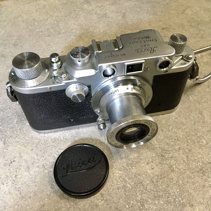 Leica IIIc 1941 Elmar 5cm  Luftwaffen Eigentum 1940