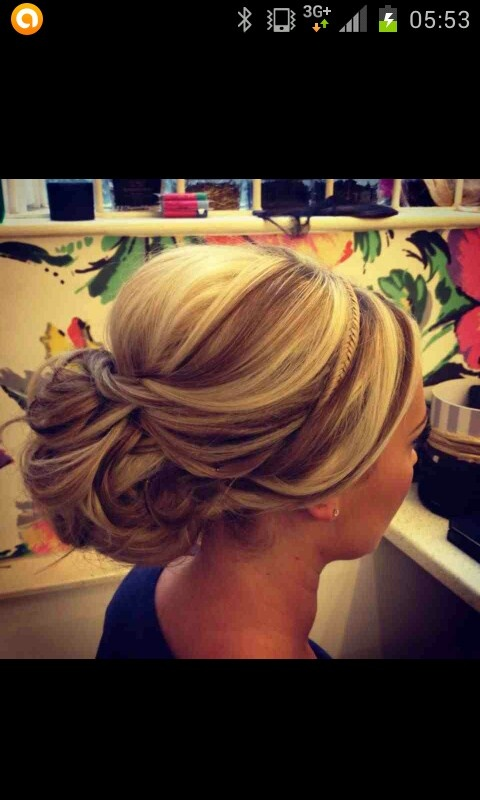 Hair up ideas! Do you have a special occasion that you'd like your hair putting up for! Buy a treat card and you can get yours done at a my treat card salon for a fraction of the price!