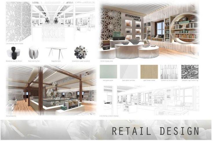 18 best digital presentation boards images on pinterest - Interior design portfolio presentation ...