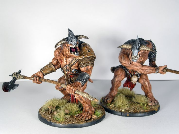 Mierce Miniatures Kaius and Luco, Fiends of Dis