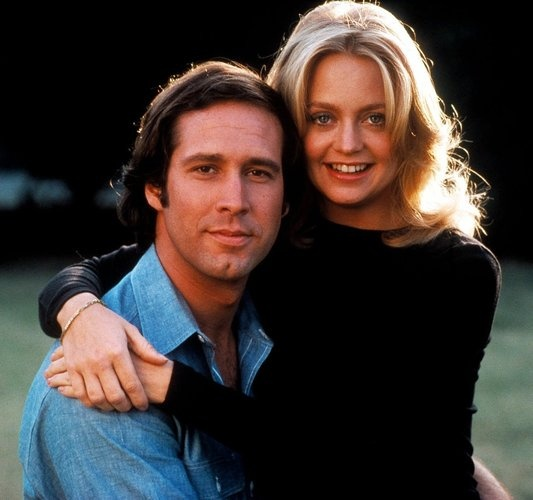 Foul Play - Chevy Chase and Goldie Hawn. I wish I could trade places with Goldie during the filming of Foul Play. I bet they had the best time ever. And Chevy was easy on the eyes.