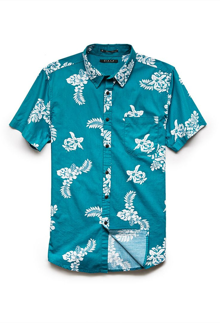 Classic Aloha Shirt | 21 MEN #21Men #SummerForever