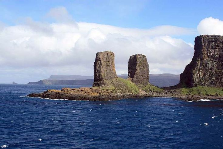 Kerguelen Islands - The most isolated place in the world - It is inhabited by people, penguins, moose and sheep