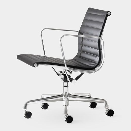 Eames Aluminum Management Chair Charles Ray Eames 1958 Eyesight Blac