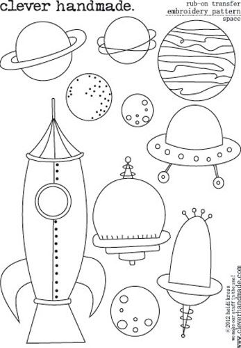 86 best line drawings for embroidery space images on for Space embroidery patterns