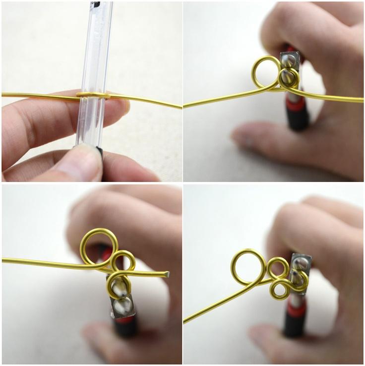 202 Fantastiche Immagini Su Wire Jewelry Jig Mandrel