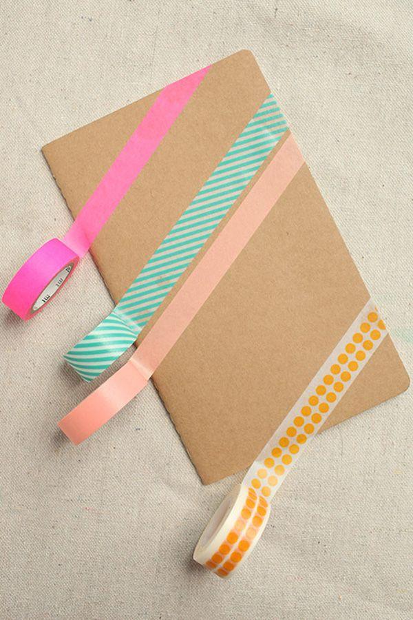 Custom notebook tutorial! Photos by designlovefest
