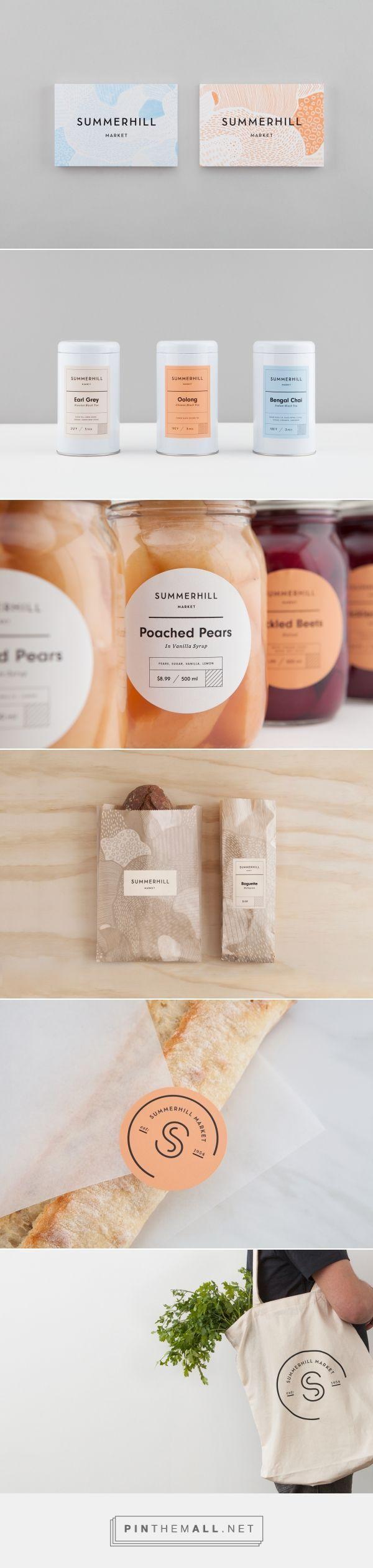 Summerhill Market Packaging and Branding Design