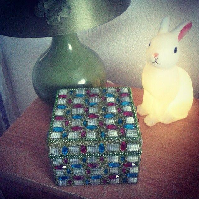 Trinket box from Turkey.
