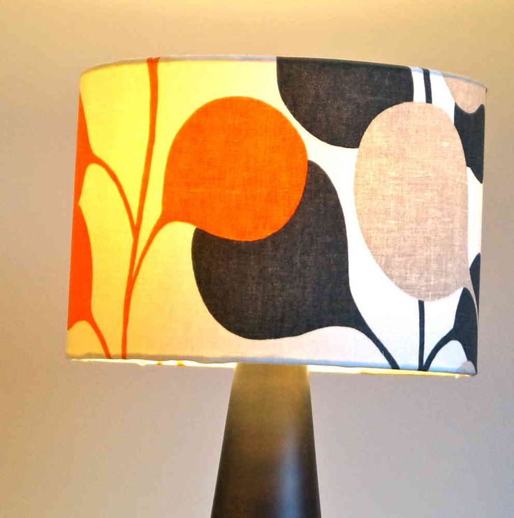 Pod Harlequin Drum Fabric Lampshade