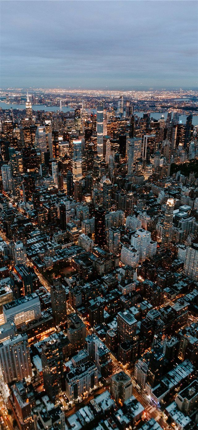 New York City United States Iphone X Wallpaper Skyline