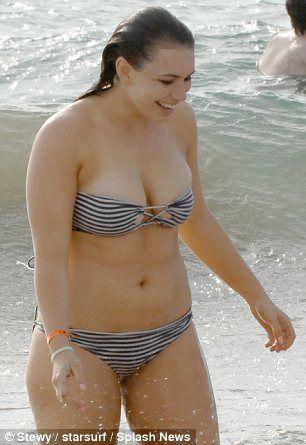 sophie simmons hot bikini stills at a beach in maui sept