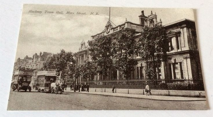 The second #Hackney Town Hall Mare st Hackney charlesmartin postcard
