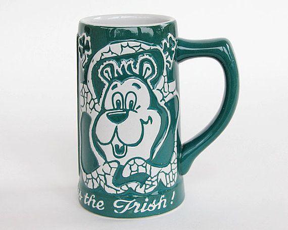 Hamms Beer Bear Irish Stein Erin Go Hamms Mug By
