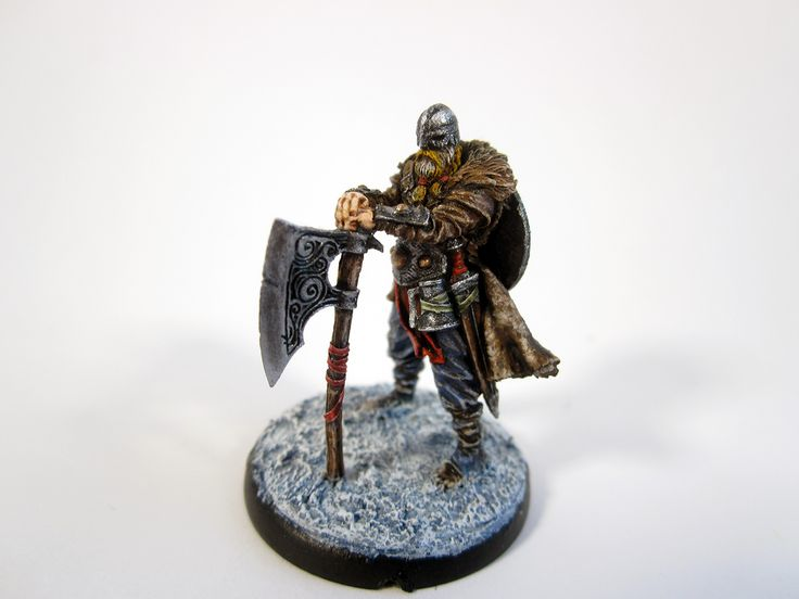Mierce Miniatures KNÚTR OF VÍKIN, SKIPARI OF HRAFNEN ON FOOT