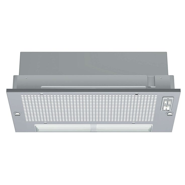 BuyNeff D5625X0GB Built-in Canopy Cooker Hood, Silver Online at johnlewis.com