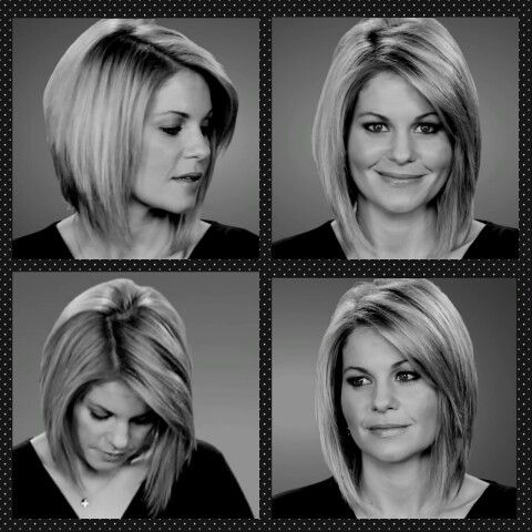 Great haircut, great pics!  Candace Cameron Bure