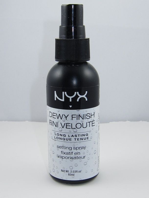 Can't wait to try this!  NYX Dewy Finish Long Lasting Makeup Setting Spray