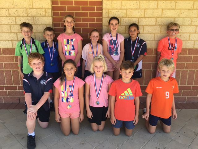 Swimming medal winners 2016