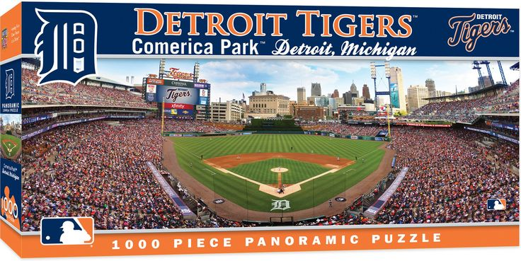 MLB Detroit Tigers - 1000 Piece Jigsaw Puzzle