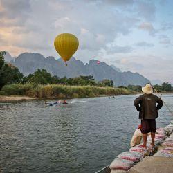 Air Balloon at Vang Vieng (Laos)