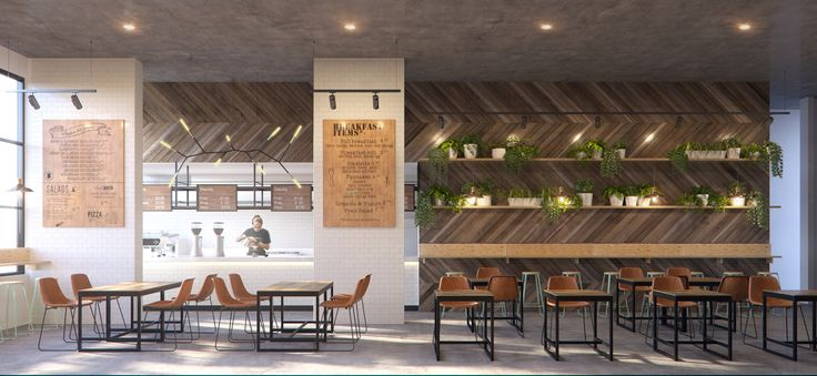 Cafe concept designed by Guru Projects