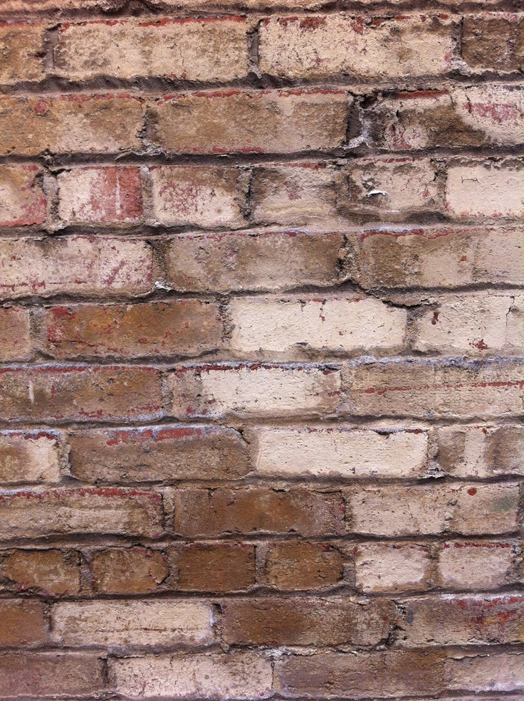 Distressed brick textures pinterest bricks for Distressed brick wall mural