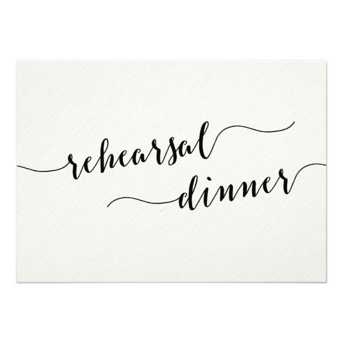 2612 best rehearsal dinner invitations images on pinterest texts black and white wedding rehearsal dinner invites junglespirit Image collections