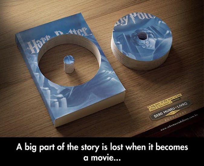 Harry Potter 15 Hilarious Book Vs Movie Memes Only True Fans Will Get Harry Potter Cast Books Vs Movies Harry Potter Memes