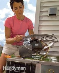 Get ready for Summer!  DIY Clean Your Air Conditioner Condenser Unit.  WoW what a $$ Saver!!!  Great Tutorial!