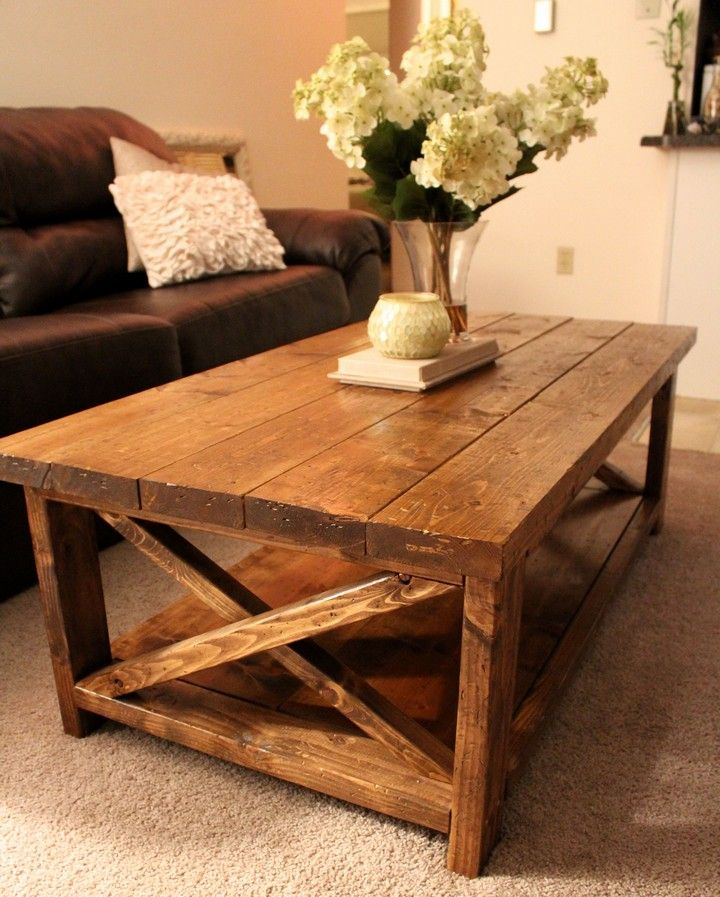 Diy farmhouse coffee table and end tables plans in 2020