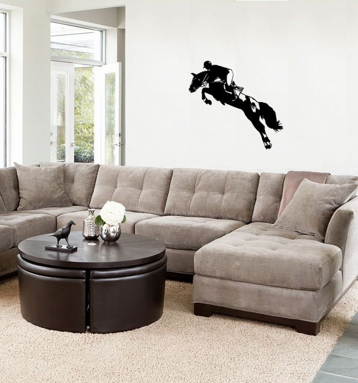 Best Wall Decals Images On Pinterest Wall Decals Horse Wall - How to put up a large wall sticker