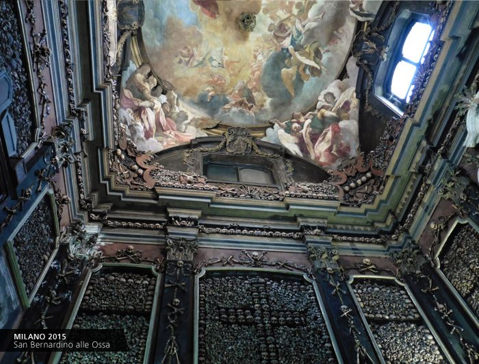 Ossario San Bernardino alle Ossa #Milano #Italy / Giovanni Longo #art #travel https://www.facebook.com/giovannilongo.art