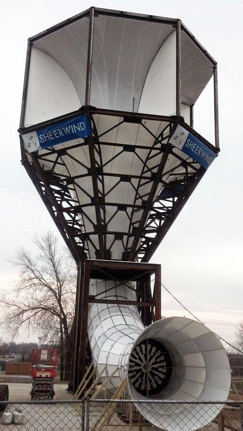 Torre gera 600% mais eletricidade do que tradicionais turbinas de vento ~ O Mundo Variável
