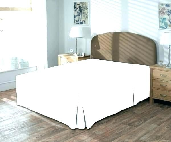 How To Make Bed Skirt For Low Profile Box Spring Trendy Bedroom