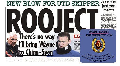Saran Sepakbola: Sven-Goran Eriksson mengatur Wayne Rooney untuk pi...