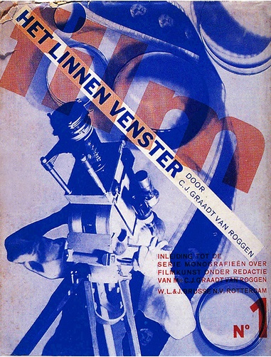 By Piet Zwart, 1 9 3 1, Dutch film periodical cover.