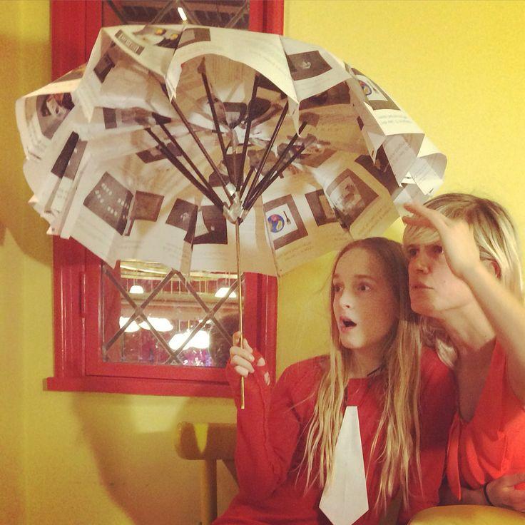 Umbrella 2015. Olivia Troest & Ida Exner