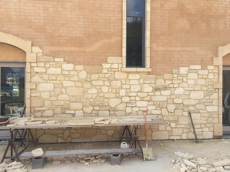 Tyabb project currently in progress in 2016. WA Rubble Limestone. This product will bring new life into old existing bricks or rendered walls!!