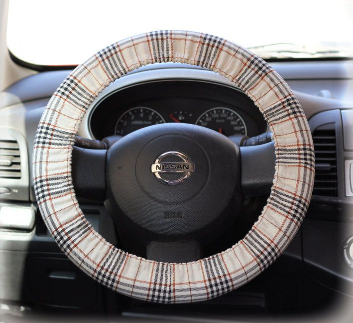 Steering-wheel-cover-cheetah-wheel-car-accessories-Burberry-Steering-Wheel-Cover-English-Style