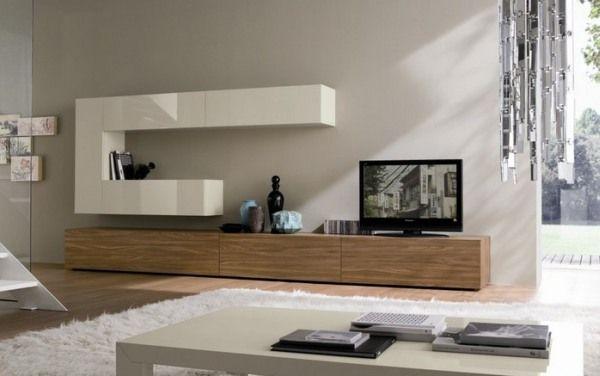 Leuke TV kast + bovenkast (wit)