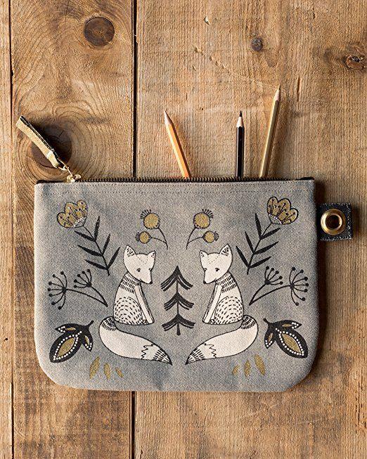 Amazon.com: Danica Studio Zipper Pouch, Large, Wild Tale: Home & Kitchen